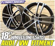 18'' Alloy Wheels VW GOLF GTD (NOGARO) only MK5 MK6 MK7 AUDI A3 A4 PASSAT