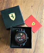 Ferrari Scuderia  0830223 FXX Men's Chronograph Sports Quartz Watch-Black - NEW