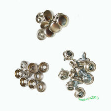 """20set boat marine canvas cover screw snap boat car covers parts 3/8"""" screws"""
