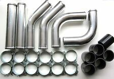 "Universal Pipework Kit 70mm (2.75"") for Front Mount Intercooler (FMIC) - BLACK"