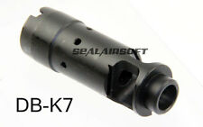 Dboy Steel Flash Hider 14mm CCW For 74 Airsoft Toy AEG Marui APS JG NOT FOR REAL