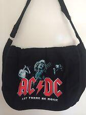 NEW!ACDC Metal Rock Band Bag Messenger bag school shoulder travel laptop Gift