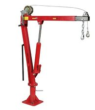 2000Lb (900kg) Capacity Swivel Truck Ute Lift Pickup Crane Hoist W/Cable Winch