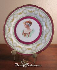 Portrait Plate Shakespeare's Beatrice Much Ado About Nothing Imperial China