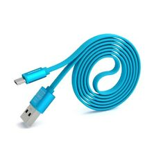 PINENG PN-303 Android High Speed Noddle 2A Micro USB Charging/Data Cable(1m)Blue