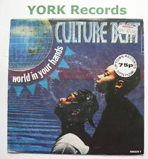"CULTURE BEAT - World In Your Hands - Excellent Condition 7"" Single Epic 660229 7"