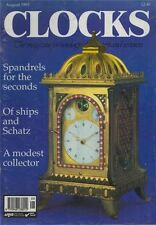 CLOCKS -  Fly Dials origins. Schatz ship clocks. Making Longcase Wheel  c2.1