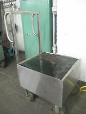 Stainless Steel Industrial Roll Around Cart