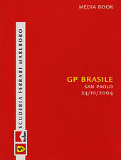 Scuderia Ferrari F1 Media Book - Brazilian Grand Prix 2004 Driver Stats & Bios