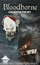 Bloodborne Pin Set 2-pk Hunter & Doll by Esc-Toy Sony Playstation Pinny NEW