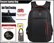 Stylish WENGER SA-1418 TGN 12~17 inches Laptop Backpack Notebook Bag BLACK