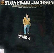 STONEWALL JACKSON - HELP STAMP OUT LONELINESS - COL. LP