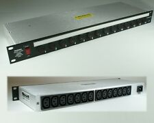 "Rack mount 19"" power distribution unit 14-way"