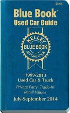Kelley Blue Book Used Car Guide: Consumer Edition July-September 2014-ExLibrary