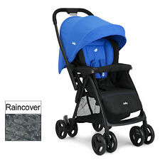 NEW JOIE BLUE MIRUS SCENIC STROLLER 2 WAY FACING PUSHCHAIR BIRTH+ BABY BUGGY