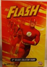 "DC Direct 13"" Deluxe 1:6 Scale Collector Edition The Flash Barry Allen (MISB)"