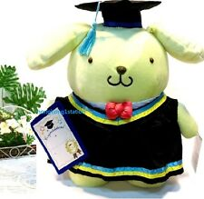 Sanrio Pom Pom Purin Puppy Graduation Grad Plush Doll Congratulation Gift Toy