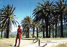 PUBLICITE ADVERTISING 065  1995  HERMES ( 2 p) Pour seul bagage l'ELEGANCE