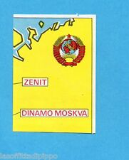 FOOTBALL CLUBS-PANINI 1975-Figurina n.266- SSSR - CARTINA-Rec