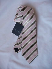 Gieves and Hawkes Brand New with tag Pink Stripe tie RRP £75