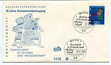 1966 Sonderpostwertzeichen 75 Jahre Drehstromubertragung Fortschritt Technik