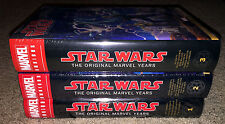 "Star Wars ""The Marvel Years"" Omnibus Vol. 1 2 3 HC - RARE Variants NEW & Sealed!"