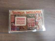 "NEW SEALED ""Georgia Satellites"" In The Land Of Salvation & Sin Cassette Tape (G)"