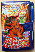 Digimon Adventure School Organizer Weekly Schedule & Address Book Planner RARE!!