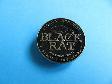 Moles Brewery BLACK RAT Cider Pin Badge. VGC. Unused. Enamel.