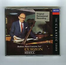 CD BRAHMS PIANO CONCERTO # 1 CURZON SZELL (LSO)