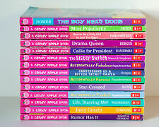 Lot of 14 CANDY APPLE Series Matched Set of Chapter Books for Girls Ages 8-12