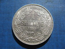 South Africa Shilling 1897. High grade.