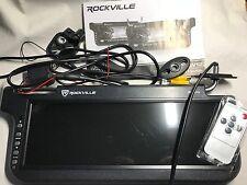 """Rockville RPSV12 12.2"""" Sun Visor TFT LCD Color Monitor - Black"""