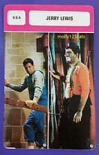 US Movie Director Screenwriter Actor Comedian Jerry Lewis French Film Trade Card