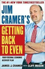 NEW - Jim Cramer's Getting Back to Even by Cramer, James J.