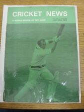 30/07/1977 Cricket News: Vol.01 No.13 - A Weekly Review Of The Game. Any faults