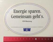 Aufkleber/Sticker: Energie Sparen Gemeinsam Geht's - VEW Beratung (090616149)