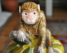 Very Rare and Highly Collectible Enesco Monkey Cookie Jar