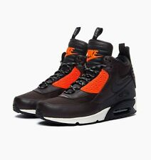 NIKE Air Max 90 SneakerBoot Winter Boot Brown 3M water proof Size 8.5 684714-200
