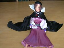 Shabby Vintage Disney / Bikin Evil Queen Snow White Doll w/ Attire