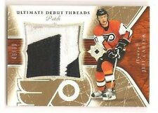 Jeff Carter 2005-06 Upper Deck Ultimate Collection Debut Threads Patch 48/60