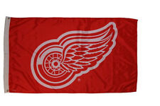 DETROIT RED WINGS NHL HOCKEY LOGO LARGE 3' X 5' FEET FLAG BANNER .. NEW