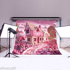 Candy Scenery Vinyl Photography Backdrop Background Studio Prop 5X3FT MH307