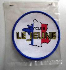 cyclisme - ancien écusson tissu pour maillot - Cycles LEJEUNE année 70