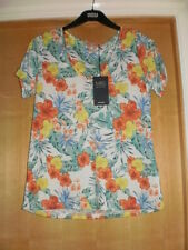 M & S T-Shirt with linen BNWT Size 8