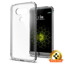 [Spigen Factory Outlet] LG G5 Case [Crystal Shell]Dark Crystal