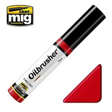 AMMO by Mig Jimenez Oilbrusher - Red (Oil paint with fine brush applicator)