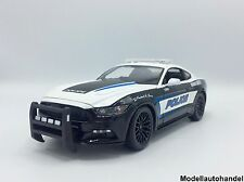 FORD MUSTANG 5.0 GT Police / Polizei  2015  - 1:18 MAISTO - UVP 58,50 €