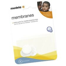 NEW MEDELA REPLACEMENT MEMBRANES PACKAGE OF SIX (6)