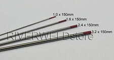 2% Thoriated WT20 Red TIG Welding Tungsten Electrode Assorted Size 1.0~3.2mm,4PK